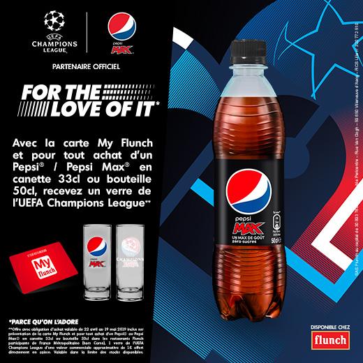 Pepsi et UEFA Champions League