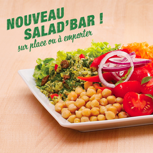 Nouveau salad bar