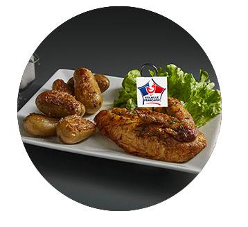 1 4 poulet