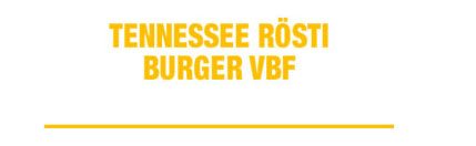 Ecriture Tennessee rosti burger VBF