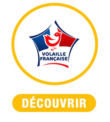 Volaille française nouveau menu