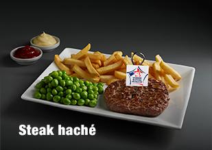 Steak haché viande bovine française