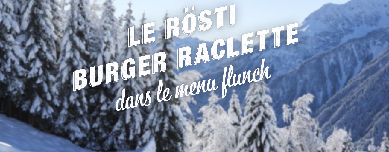 Le Rösti Burger Raclette