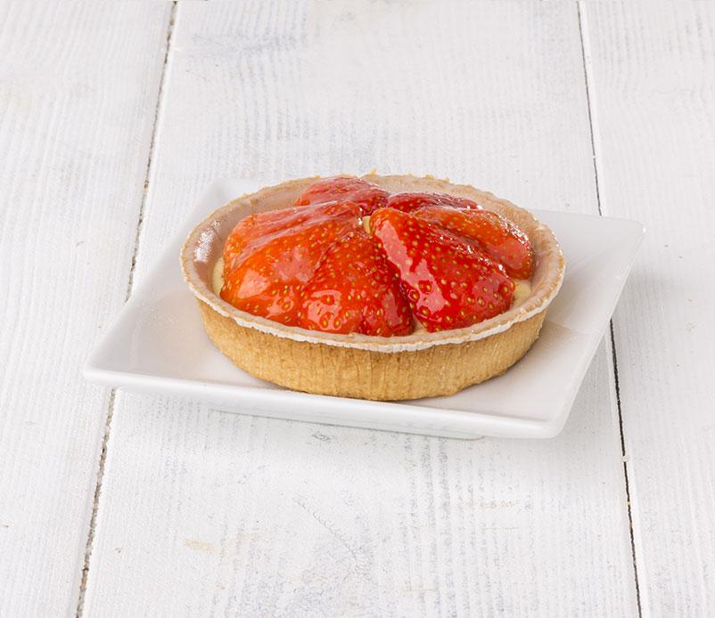 Tartelette-crémeuse-fraise