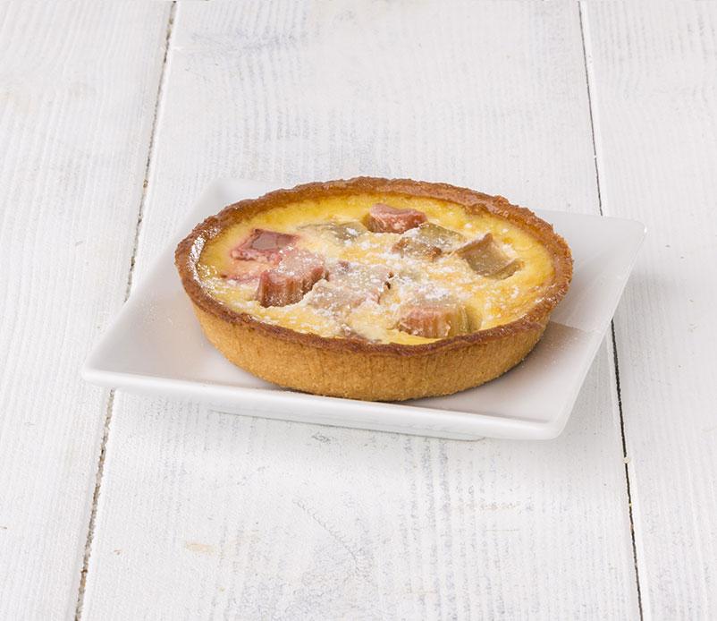 Tartelette-crémeuse-rhubarbe