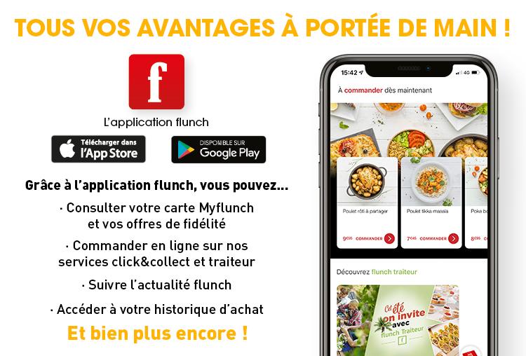 Application mobile flunch