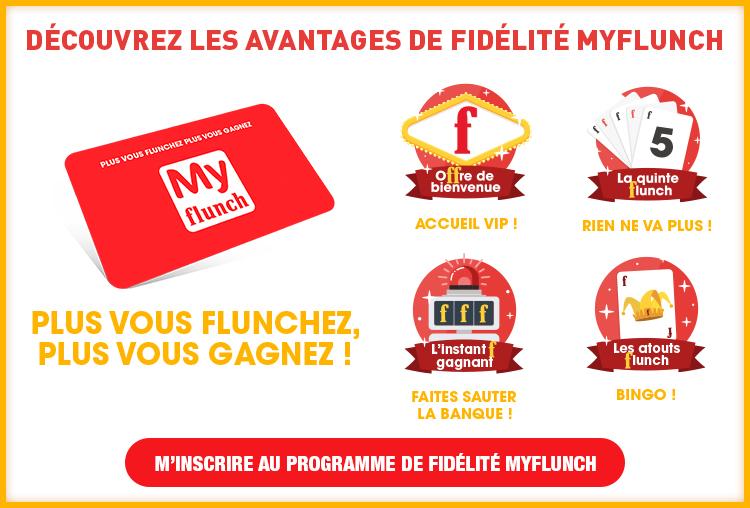 Avantages fidélité Myflunch