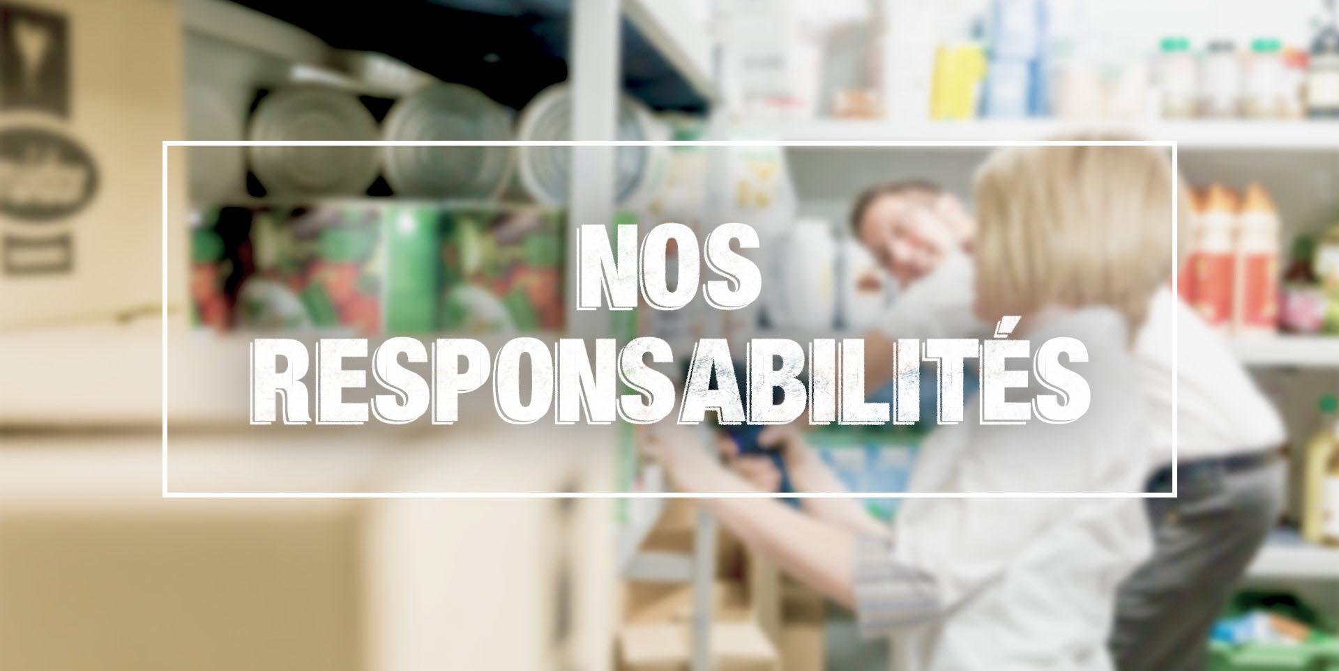 Recrutement - Responsabilités
